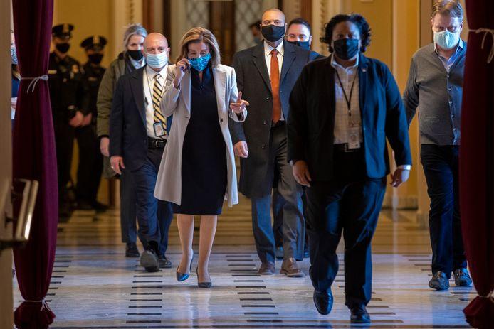 Huis-voorzitster Nancy Pelosi.