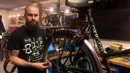 Hippe fietsenwinkel alwéér bestolen