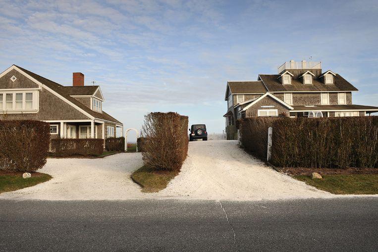 Huizen in de Amerikaanse staat Massachusets (Marcel van den Bergh/ de Volkskrant) Beeld