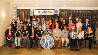Kiwanis Young Professionals Wervik steunt zestien projecten