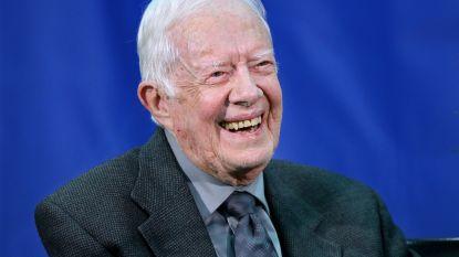 Voormalig Amerikaans president Jimmy Carter heeft ziekenhuis verlaten