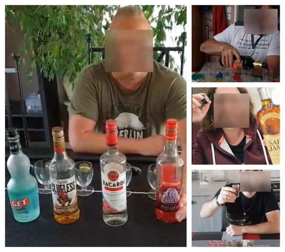 Op Facebook bulkt het van de filmpjes waarin mensen gehoor geven aan de onrustwekkende challenge.