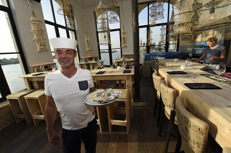 Noorderterras heropent als seafoodrestaurant antwerpen for Interieur reinigen auto antwerpen