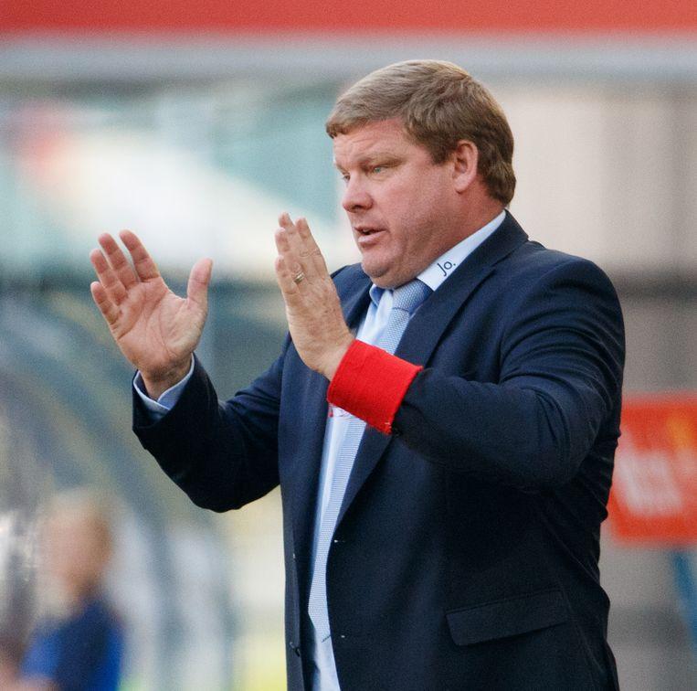 Hein Vanhaezebrouck opnieuw onder druk na een nieuwe thuisnederlaag.