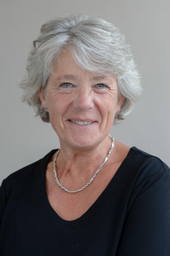 Annelies Visser uit Ooij is kandidaat-wethouder voor Polderbreed.  Eigen foto