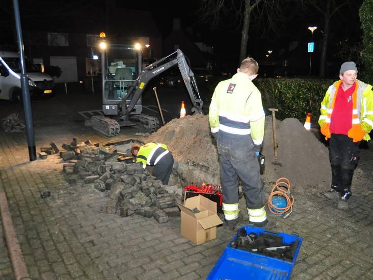 Flinke stroomstoring aan de Amstel in Waalwijk, bewoners zitten in de kou