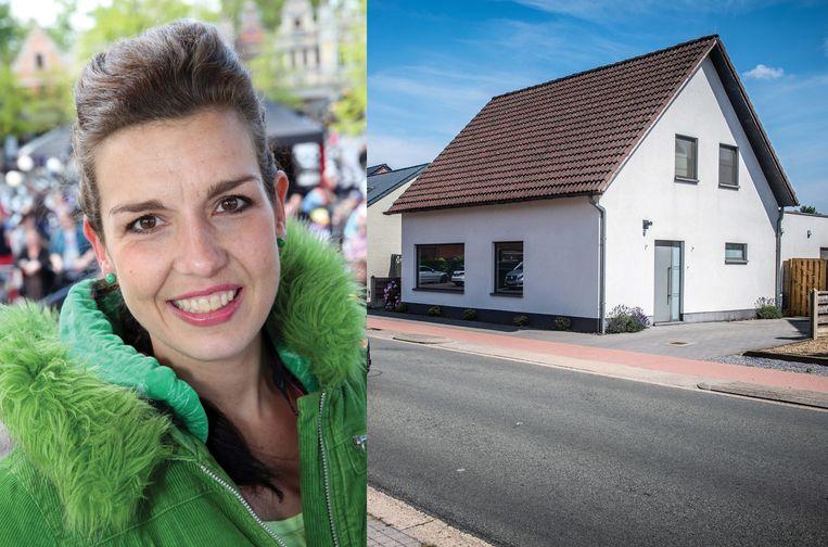 Bij het huis van Anick Berghmans werd zo'n jaar geleden een Audi aangetroffen. Die Audi was vermoedelijk betrokken bij een plofkraak in Lommel.