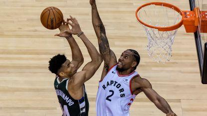 Toronto Raptors verslaan Milwaukee Bucks na twee verlengingen en brengen spanning terug
