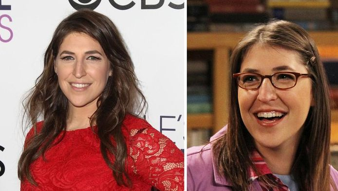Mayim Bialik speelt in The Big Bang Theory de rol van Amy Farrah Fowler.