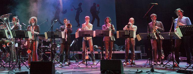 New Rotterdam Jazz Orchestra. Beeld New Rotterdam Jazz Orchestra
