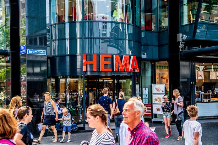Hema in Rotterdam.