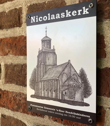 De kerk in 's-Heer Hendrikskinderen heeft eindelijk weer een naam: Nicolaaskerk