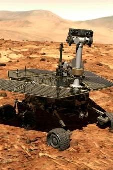 NASA doet ultieme poging om contact met verstomde marslander Opportunity te herstellen