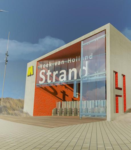 Pas in 2021 met de metro naar strand Hoek van Holland