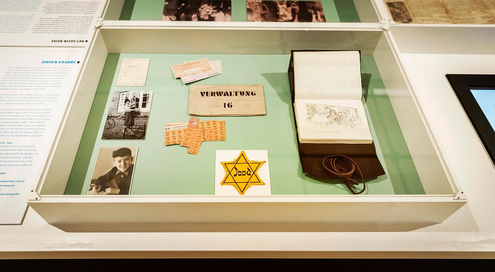 Een eerdere expositie in het Nationaal Holocaust Museum