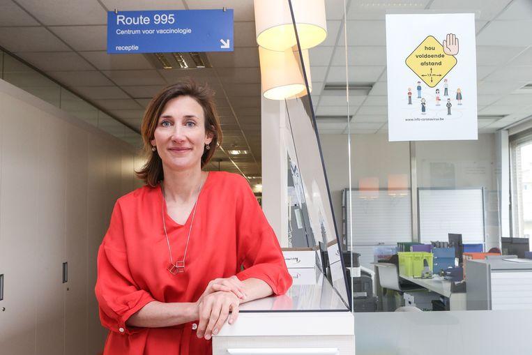 Microbioloog Isabel Leroux-Roels (41), diensthoofd van het Centrum voor vaccinologie (UZ Gent).