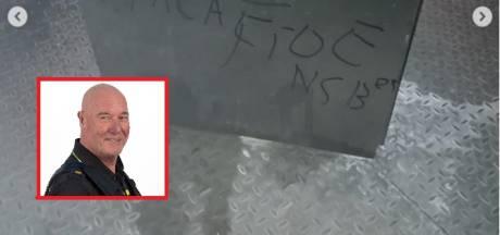 Gorcumse wijkagent opnieuw bedreigd: 'Ik laat me niet bang maken'