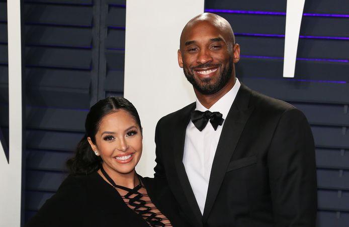 Vanessa Bryant, de vrouw van de omgekomen basketballer Kobe Bryant.