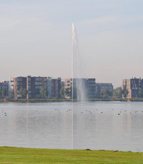 Hoogste fontein van Nederland staat nog stil, monsters genomen
