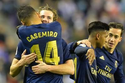 Le Real et Courtois s'isolent en tête de Liga, la Juve tombe à Naples