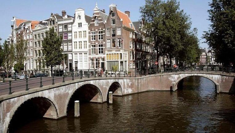 Woningen in Amsterdam Beeld anp
