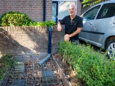 Nijmegenaar koppelde regenpijp af: 'Nu alleen uitkijken met het vet uit de braadpan'
