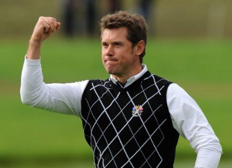 De Britse golfer Lee Westwood. ANP Beeld