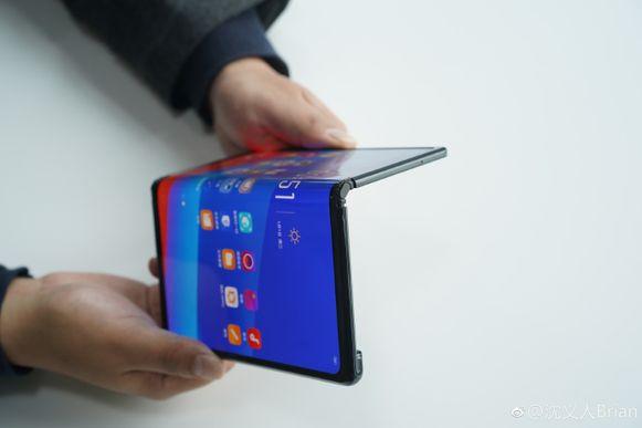 De vouwbare smartphone van Oppo.