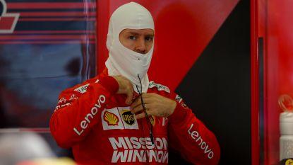 Vettel nipt sneller dan Verstappen in tweede vrije training GP van Mexico