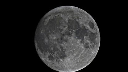 Lezing over geologie van de maan