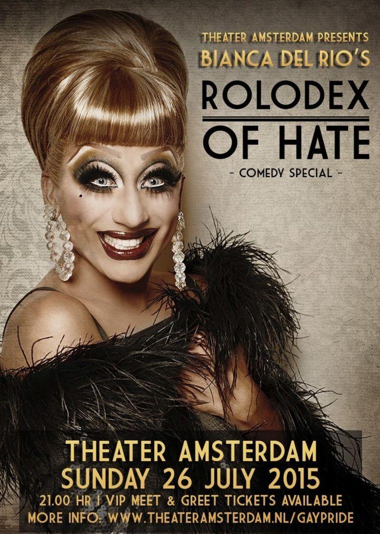 Bianca Del Rio Beeld Theater Amsterdam