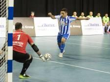 Na zeven wedstrijden eindelijk eens een zege voor zaalvoetballers FC Eindhoven