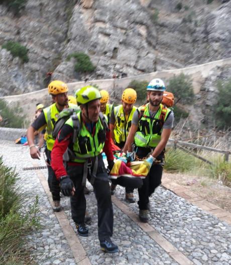 Elf wandelaars omgekomen in Italiaanse kloof; Nederlander gewond