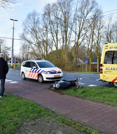 Scooterrijder gewond bij botsing in Arnhem