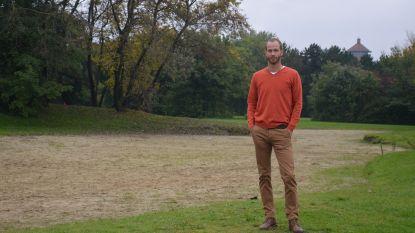 Ex-deelnemer Blind Getrouwd Jonas Wielandt springt in vaart om duif te redden