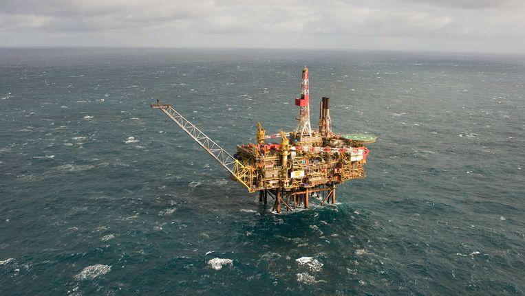 Een boorplatform van Shell Beeld Reuters
