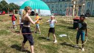 Nog hele week hoelahoepen en koorddansen: circusfestival Acrobat palmt abdijdomein in