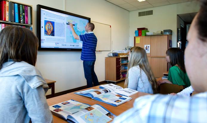 Scholenkoepel OVO is blij dat ouders of andere familieleden van leerlingen voor de klas mogen staan als de nood hoog is. Foto ter illustratie.