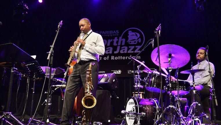 Branford Marsalis in 2013 tijdens North Sea Jazz. Beeld Guus Dubbelman / de Volkskrant