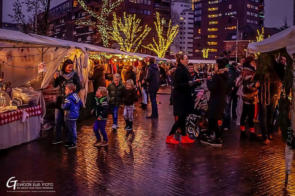 Kerstmarkt.
