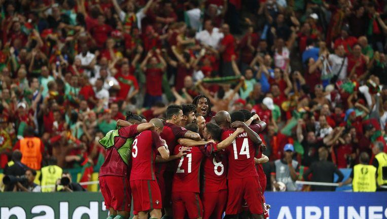 Portugal Europees kampioen Beeld epa