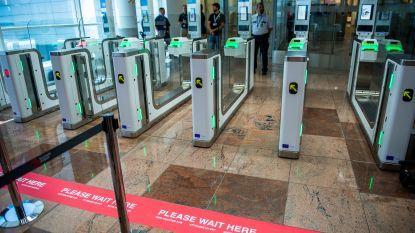 Geen gezichtsherkenning meer op Brussels Airport