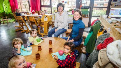 Biologische voeding en zelfs buiten slapen in nieuwe kinderopvang