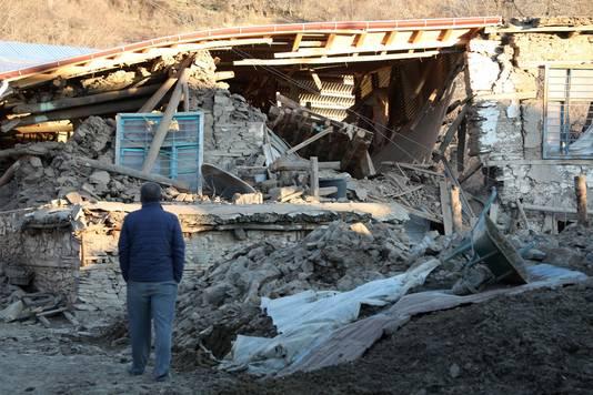 Premières images d'Elazig après le séisme
