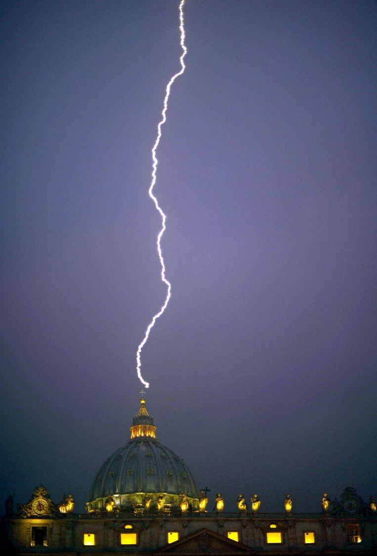 Het Vaticaan Beeld afp
