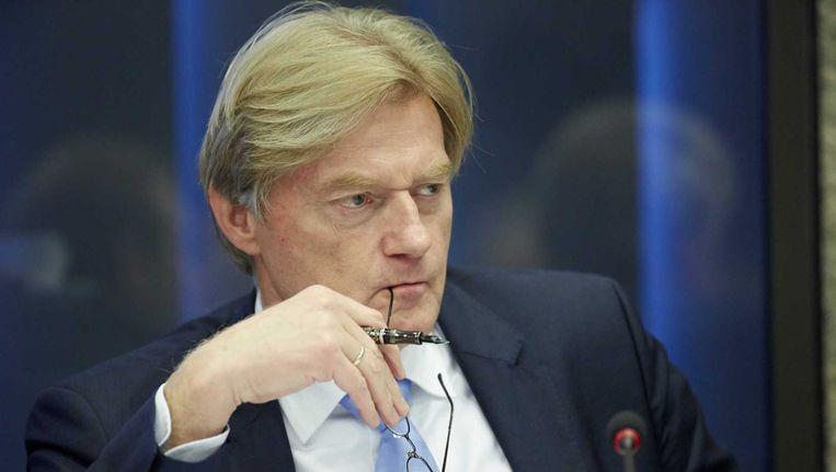 Staatssecretaris Martin van Rijn van Volksgezondsheid, Welzijn en Sport (VWS) tijdens een debat over stelselherziening voor transitie in de jeugdzorg, afgelopen september. Beeld anp