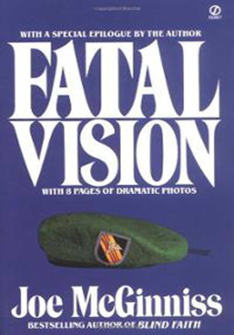 De cover van McGinniss' Fatal Vision. Beeld ap