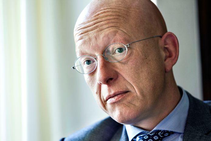 Maarten Houben, voorzitter van de programmaraad integrale aanpak jihadisme Oost-Brabant en burgemeester van Nuenen