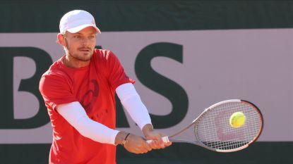"""David Goffin begint morgen aan Roland Garros: """"Klaar om goed toernooi te spelen"""""""