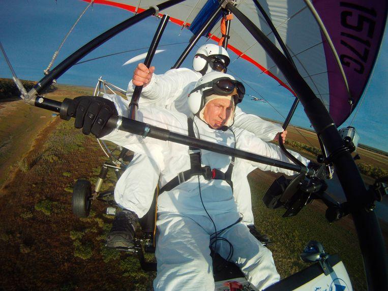 In 2012: al vliegend boven Siberië.